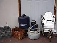 Чистка газовых водогрейных котлов  специальным прибором  г. Луцк