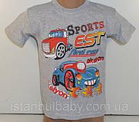 Детские футболки оптом из Турции. Футболка для мальчиков 1,2,3 года