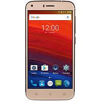 Смартфон Bravis A506 Crystal Gold, 2 MicroSim, сенсорный емкостный 5' (1280x720 ) IPS, MediaTek MT6580 Quad Core 1.3GHz, RAM 1Gb, ROM 8Gb, microSD