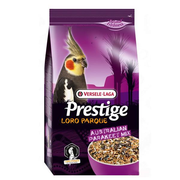 Versele-Laga Prestige Loro Parque Australian Parakeet Mix ЛОРО ПАРК 1кг - корм для волнистых попугаев