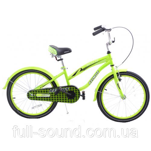 """Детский велосипед для девочки Azimut beach 20"""""""