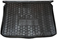 Поліуретановий килимок в багажник Fiat 500X 2014- (AVTO-GUMM)