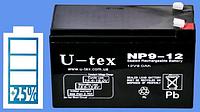 Аккумуляторная батарея U-tex NP9-12