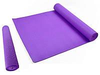 Коврик гимнастический Мата для Фитнес, Пилатес, Йоги - Yoga Mate 172,5x61cm x 4mm