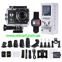 Экшен камера Andoer AN4000 4K 30fps 16MP WiFi. Черная.