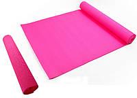 Коврик гимнастический Мата для Фитнес, Пилатес, Йоги - Yoga Mate Pink 172,5x61cm x 4mm