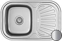 Кухонная мойка из нержавеющей стали Galati Stela Satin 8475
