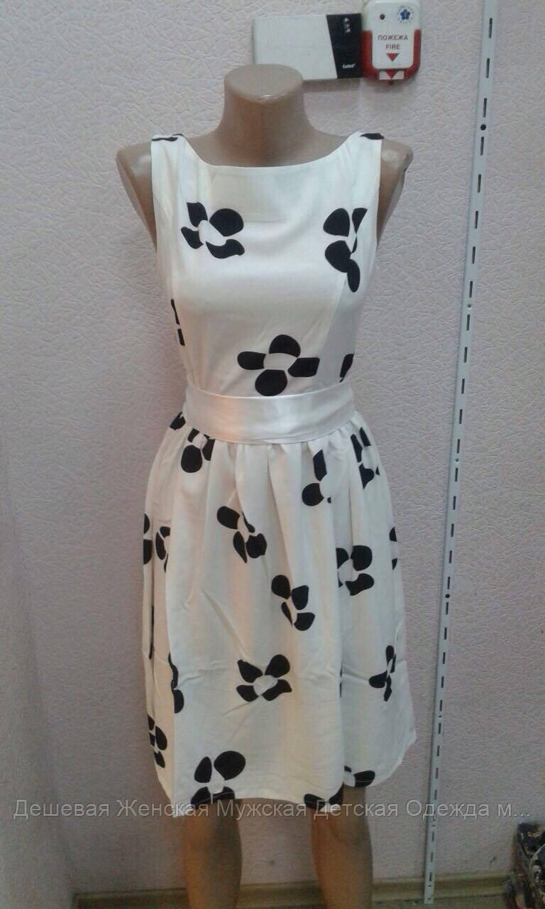 Стильное платье лето