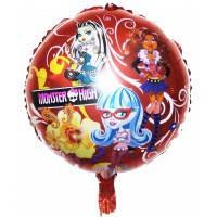 """Фольгированный шар наполненный гелием""""Monster High"""""""