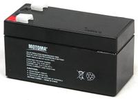 Аккумуляторная батарея MOTOMA АКБ 12V 1,2Ah (SLA-MS12V1.2)