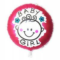 Фольгированный шар наполненный гелием Baby Girl