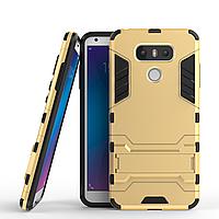 Чехол LG G6 / H870 / LS993 Hybrid Armored Case золотой