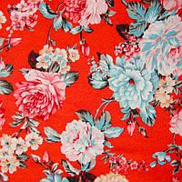 Ткань блузочная принтованная «Маркет» (P5672 дизайн 26)