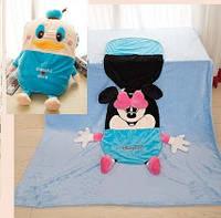 """Одеяло - подушка, игрушка """"Дональд Дак"""" большое"""