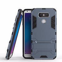 Чехол LG G6 / H870 / LS993 Hybrid Armored Case темно-синий
