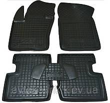 Поліуретанові килимки в салон Fiat 500X 2014- (AVTO-GUMM)