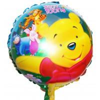 Воздушный шар с гелием ВИННИ ПУХ 45см