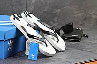 Мужские вьетнамки Adidas белые 2417