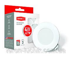 Светодиодный LED светильник Maxus SDL 4W IP44