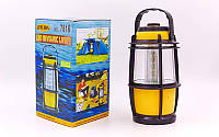 Фонарь кемпинговый светодиодный 7816 (16 ламп, на бат. (3 AA)