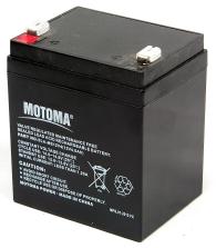 Аккумуляторная батарея MOTOMA АКБ 12V 4Ah (SLA-MS12V4)