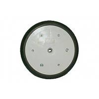 Колесо прикатывающее (мягкая шина, болт крепежный М16х100) СЗМ-4 (Велес-Агро)