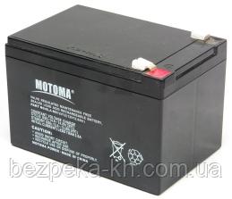 Аккумуляторная батарея MOTOMA  АКБ 12V 12Ah (SLA-MS12V12)