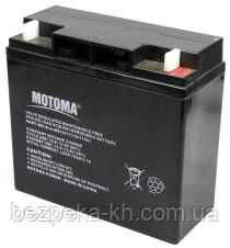Аккумуляторная батарея MOTOMA  АКБ 12V 17Ah (SLA-MS12V17)