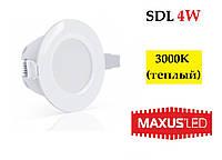 Світлодіодний світильник LED Maxus SDL 4W IP44, фото 1
