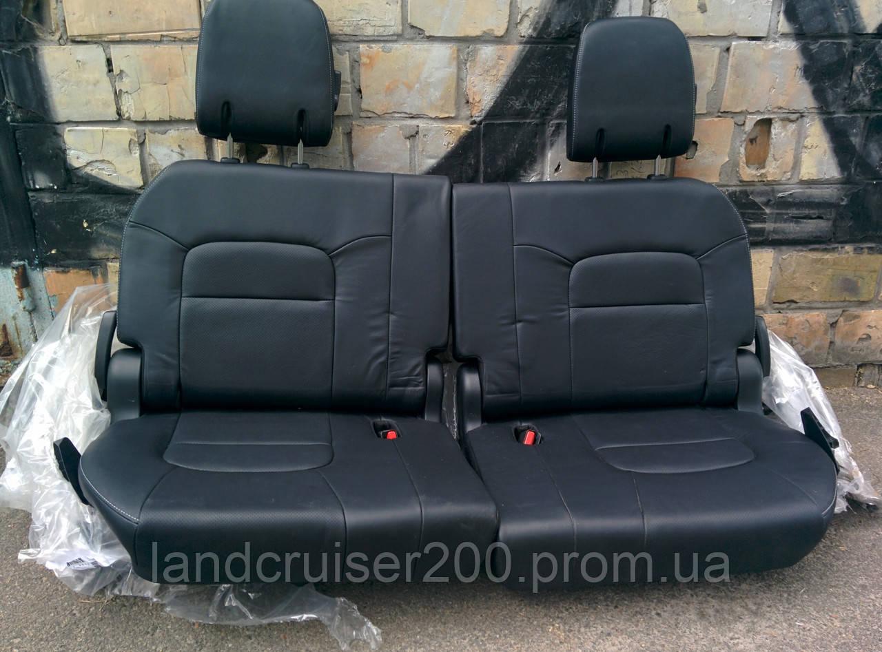 Заднее сиденье третий ряд Toyota Land Cruiser 200 рестайлинг/Lexus LX570