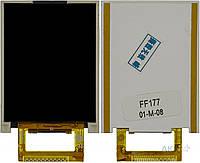 Дисплей (экран) для телефона Fly FF177