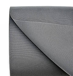 Ткань для биминитопа Dyed Acrylic 8.85oz/sq yd, charcoal/темносерая, ширина 1,53м