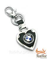 """Брелок для ключей автомобиля """" BMW """" с черной вставкой"""