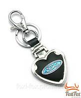 Брелок для автомобильных ключей с эмблемой Ford кольцом и карабином