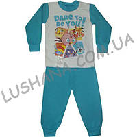Детская пижама Радуга на рост 74-80 см - Начёс