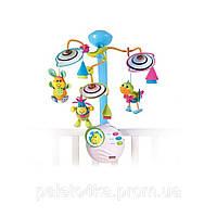 Мобиль на детскую кроватку Tiny Love Веселые зверята бело-голубой с разноцветными элементами 1303406830