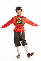 Русский народный костюм Хохлома  для мальчика, рост 115-140 см