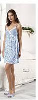 Платье домашнее /пляжное весна-лето на бретелях Relax mode.