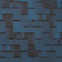 Битумная черепица ROOFCOLOR (Руфколор) Rondo Night Blue
