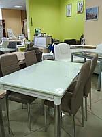 Стол ТВ-21 ультра белый 800х650мм, 1300х650мм