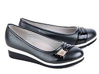 Туфли на девочку  31-37 W.niko 789-3 -black