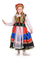 Польский национальный костюм для девочки, рост 130-140 см