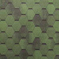 Битумная черепица ROOFCOLOR (Руфколор) Allegro Green Leaf