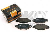 Колодки тормозные дисковые на PEUGEOT 206+, 605, 306