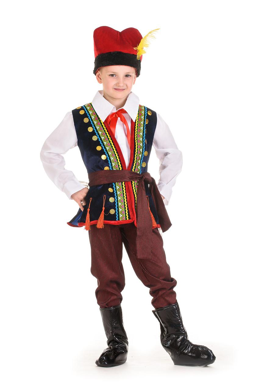 Польский национальный костюм для мальчика 4b75b4def79fc