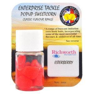 Кукуруза Enterprise tackle Flavoured PopUp Sweetcorn ESTERBERRY - RED