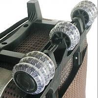Замена и установка колес на чемоданах