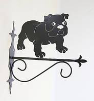 Настенная подставка для кашпо Собака С-6