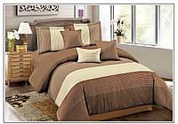 Двуспальное евро постельное бельё Valtery MP-43 CB21