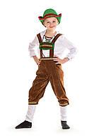 Детский национальный костюм Немец для мальчика, рост 130-140 см